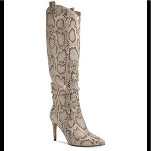 XOXO Tilda Tall Snake Dress Boots size 9M